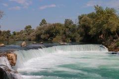Vattenfall av Manavgat Arkivbild