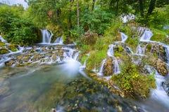 Vattenfall av Martin Brod, Bosnien och Hercegovina Royaltyfri Fotografi