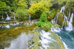 Vattenfall av Martin Brod, Bosnien och Hercegovina Royaltyfria Bilder