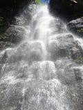 Vattenfall Bystre, Polana, Slovakien Arkivbild