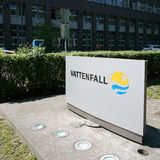 Vattenfall. Company headquarters of Vattenfall Europe AG in Berlin Stock Image
