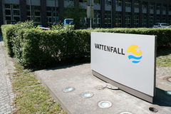 Vattenfall Royalty Free Stock Photos