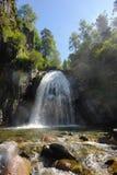 Vattenfall Corbu Fotografering för Bildbyråer