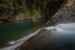 Vattenfall El Ataud i Puerto Rico royaltyfria bilder
