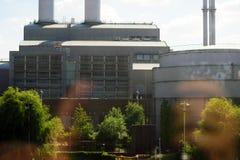 Vattenfall energiföretag Berlin Arkivbilder