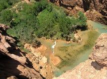 vattenfall för arizona pöl s Royaltyfri Foto