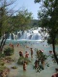 vattenfall för bukkrkaskradinski Fotografering för Bildbyråer