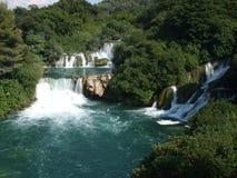 vattenfall för bukkrkaskradinski Royaltyfria Foton