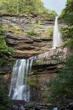 Vattenfall för Catskill berg arkivfoton