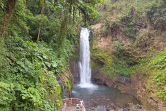 vattenfall för costalapaz rica Fotografering för Bildbyråer