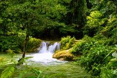 vattenfall för croatia nationalparkplitvice Royaltyfri Bild