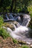 vattenfall för croatia nationalparkplitvice croatia krkanationalpark Royaltyfria Bilder