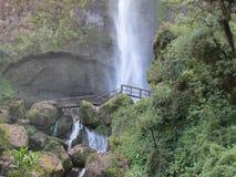 Vattenfall för El Chorro Royaltyfri Fotografi