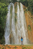 Vattenfall för El Limon Arkivbilder