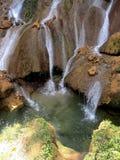 Vattenfall för El Nicho royaltyfria foton