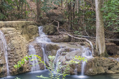 vattenfall för huaikhaminmae Royaltyfria Foton