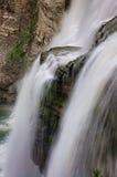 vattenfall för letchworthparktillstånd Royaltyfri Fotografi