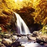 vattenfall för naturlig fjäder Royaltyfria Foton