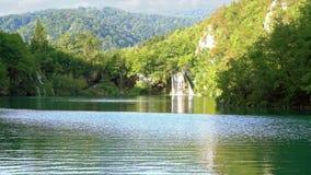 vattenfall för plitvice för croatia lakesnationalpark sostavtsy lager videofilmer