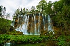 vattenfall för plitvice för croatia lakesnationalpark sostavtsy Royaltyfria Foton