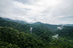 Vattenfall för sju brunnar Royaltyfri Foto