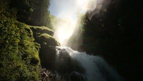 Vattenfall Giessbach, Bernese Oberland, Schweiz stock video