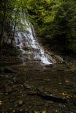 Vattenfall - Grimesdalgång - New York royaltyfri bild
