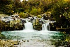 Vattenfall - gurne av alcantaraen Arkivfoton