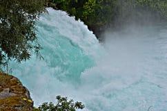 Vattenfall Huka nedgångar, Nya Zeeland royaltyfria bilder