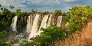 Vattenfall i Afrika Arkivbilder