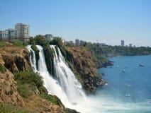 Vattenfall i Antalya Arkivbild