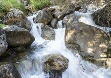 Vattenfall i bergen Royaltyfria Bilder