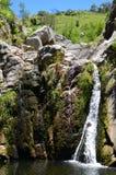 Vattenfall i berget Royaltyfri Bild