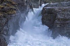 Vattenfall i Brostdalen Royaltyfria Bilder