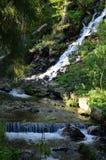 Vattenfall i Charles Fountain Royaltyfri Fotografi