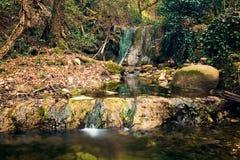 Vattenfall i dalen Royaltyfri Fotografi
