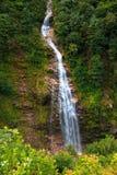 Vattenfall i den Ayder platån Rize Arkivbilder