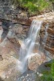 Vattenfall i den Bletterbach klyftan Royaltyfria Foton