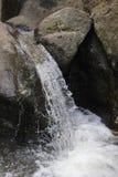 Vattenfall i det Rila berget Royaltyfria Foton