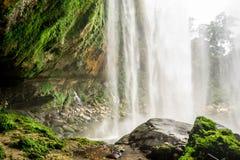 Vattenfall i djungel Fotografering för Bildbyråer