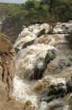 Vattenfall i Etiopien Royaltyfria Foton