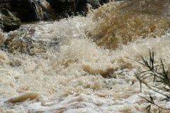 Vattenfall i Etiopien Arkivbilder