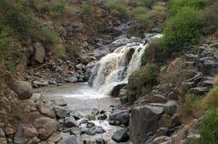Vattenfall i Etiopien Royaltyfri Fotografi