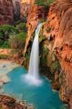 Vattenfall i Grand Canyon, Arizona, USA Royaltyfria Foton