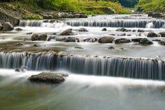 Vattenfall i Hakone Arkivbild