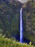 Vattenfall i Hawai Arkivfoton
