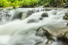 Vattenfall i Kanchanaburi Royaltyfri Bild