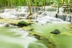 Vattenfall i Kanchanaburi Royaltyfria Foton