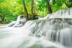 Vattenfall i Kanchanaburi Arkivbild