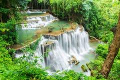 Vattenfall i Kanchanaburi Royaltyfria Bilder